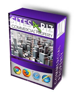 Commercial property management web site